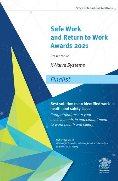 K-Valve-Systems-Finalist-Certificate